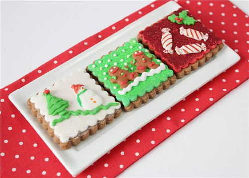 These Christmas cookies are little pieces of art