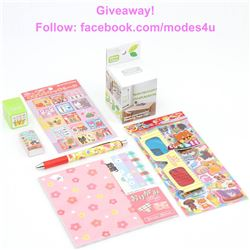 modes4u Creative Stationery Giveaway , ends September 11th, 2017