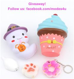 modes4u Adorable Squishies Giveaway, ends December 18th, 2017