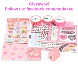 modes4u Pink Stationery Giveaway, ends January 22nd, 2018