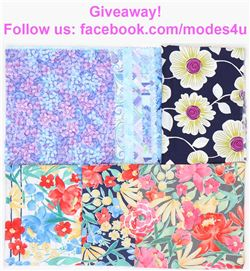 modes4u Easter Fabrics Giveaway, ends March 19th, 2018