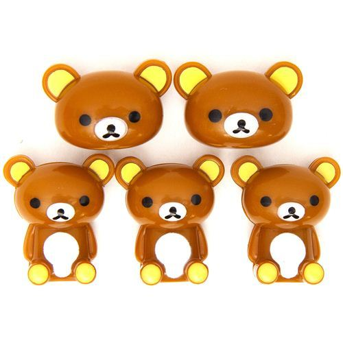 kawaii Rilakkuma brown bear magnets by San-X