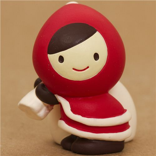 Little Red Riding Hood Christmas figure with gift sack Japan