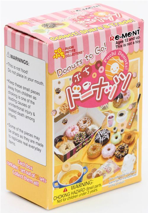 Re-Ment Donuts to Go! miniature surprise blind box