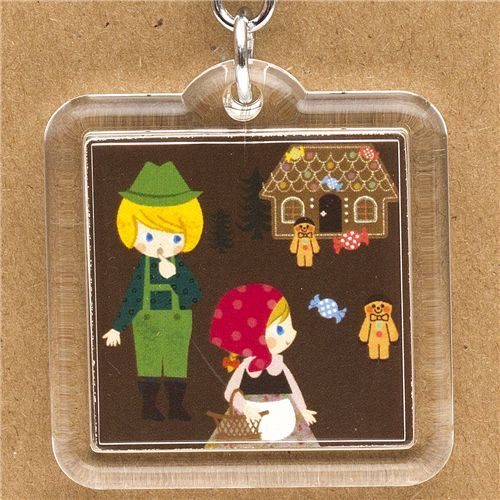 Hansel and Gretel keychain fairy tale from Japan