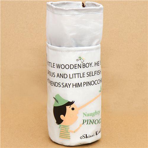Pinocchio thermo bottle bag Shinzi Katoh