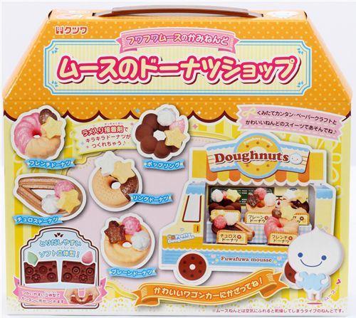 DIY donut shop clay set from Japan by Kutsuwa