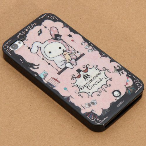 Sentimental Circus San-X iPhone 4 4S silicone soft case