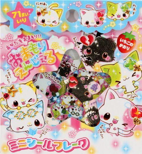 sticker sack cats Japan kawaii