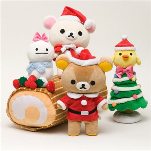 Adorable Rilakkuma Christmas Plushies