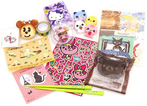 kawaii Giveaway package No.5 with Rilakkuma squishie