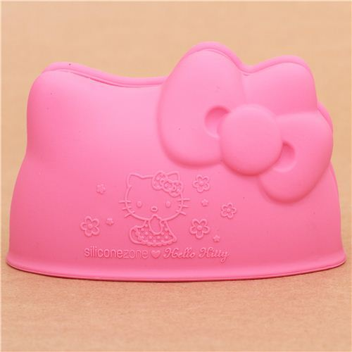 Hello Kitty mini silicone oven mit oven glove from Japan