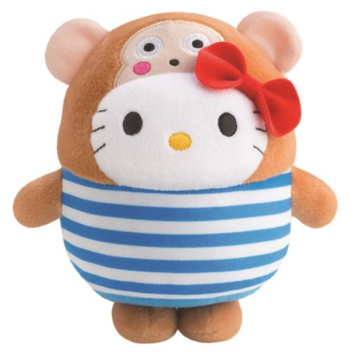 Bubbly Day Hello Kitty Osaru No Monkichi plush toy