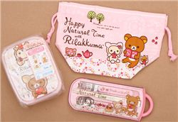 Rilakkuma Bento Lunch Set Giveaway (ends on Nov 23, 2014)