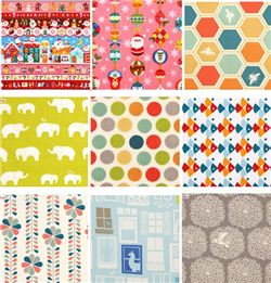 Christmas Fabric & Organic Fabric Giveaway with Chris W Designs (ends on Dec 7, 2014)