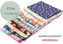 MyOwlBarn Owls Fabric Giveaway (ends on Sep 12, 2014)