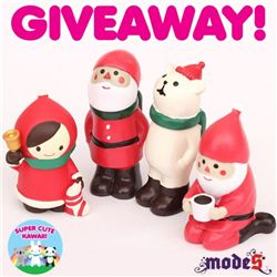 SuperCuteKawaii Christmas Decole Giveaway (ends on Oct 14, 2014)