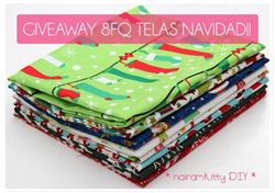 Christmas Fabric Giveaway with Nairamkitty (ends on Nov 4th, 2015)
