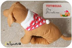 Christmas Dog Bandana Tutorial on Srta Pizpiretta (Spanish blog)