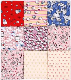 Hello Kitty Fabric Giveaway on Craft Gossip (ends on Sep 22nd, 2016)