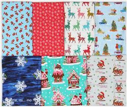Christmas Fabric Giveaway on Mamemimo (ends on Oct 13th, 2016)