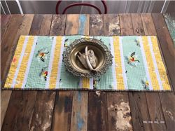 Patchwork Table Runner Tutorial by ma me mi mo (Spanish)