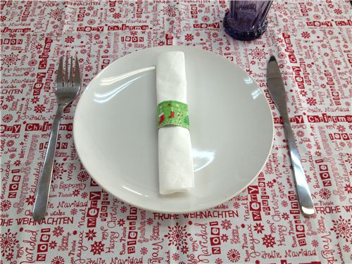 Christmas DIY: Super easy Washi Christmas Napkin Rings