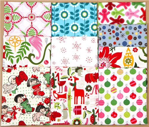 You can win this cool Christmas and winter fabrics bundle