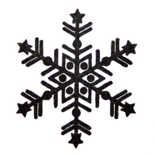 beautiful snowflake stamp Christmas handmade