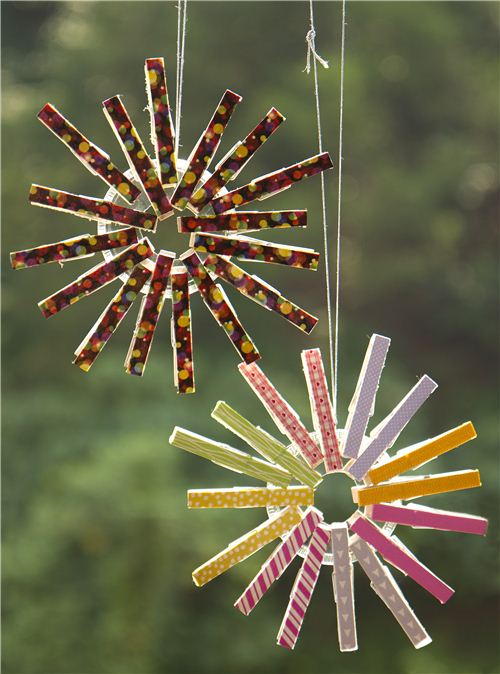 Clothespin Crafts Christmas Part - 28: Todayu0027s Christmas Craft: Christmas Clothes-peg Ornament