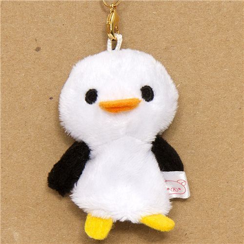 small penguin plush cellphone charm from San-X