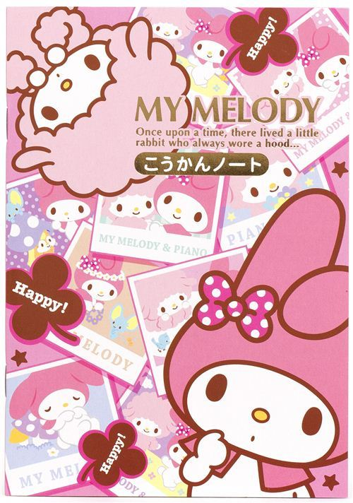 My Melody with photos notepad for friends diary