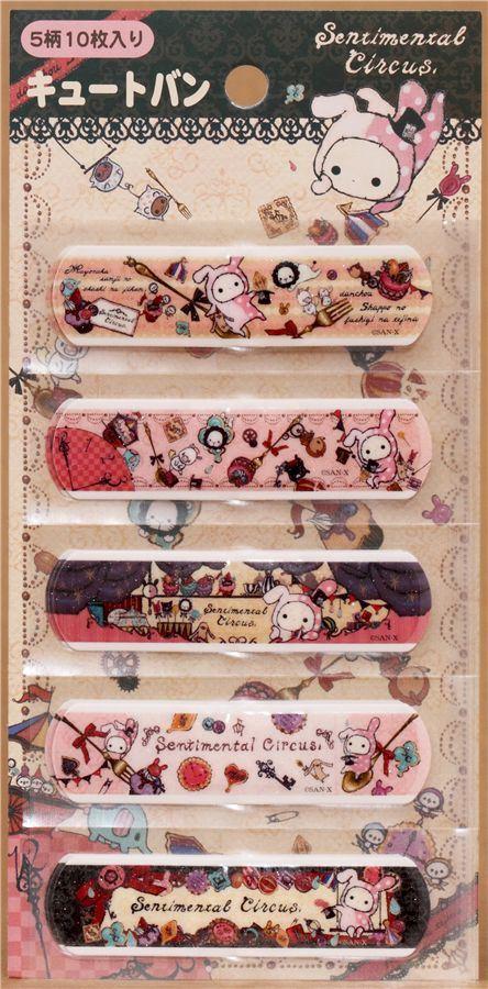 Sentimental Circus glitter Bandage Band-Aid 10 pcs Japan