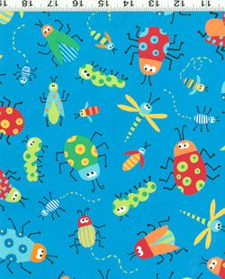 Beetle Boy fabric