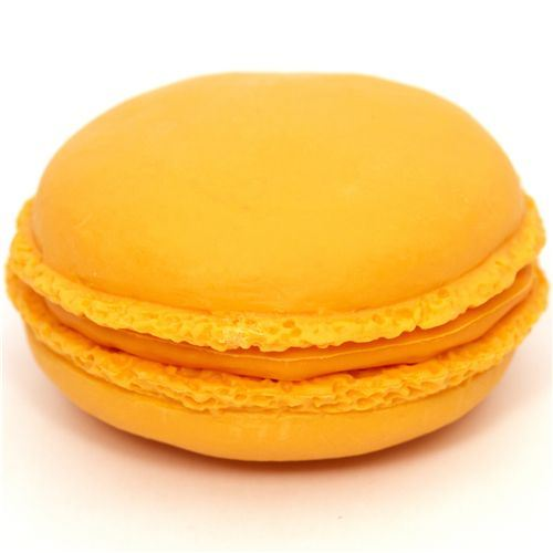 orange macaroon eraser French Pastry from Japan