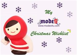 My modes4u Christmas Wishlist Blog Giveaway, ends December 10th, 2013