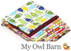 My Owl Barn Owl Fabric Giveaway ends September 27th, 2013