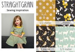 Straight Grain Christmas giveaway with modes4u echino and organic fabrics, ends October 6th, 2014