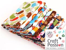 Craft Passion Christmas giveaway with modes4u Robert Kaufman fabrics, ends October 30th, 2014
