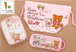 smashes peas and carrots giveaway with modes4u Rilakkuma bento box, ends November 23rd, 2014