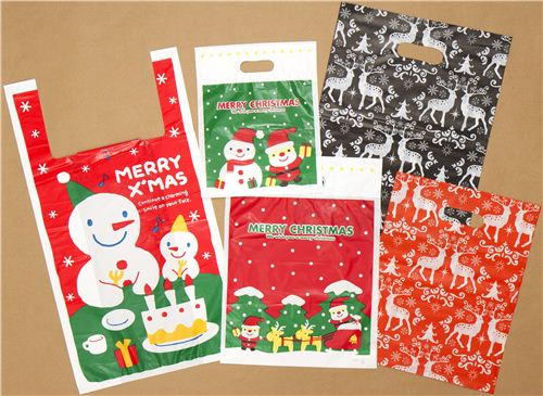 Check out our kawaii Christmas bags - you'll get one with every order