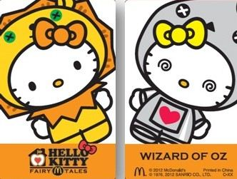 Hello Kitty as Lion and Tin Man