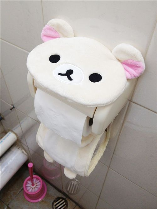 Rilakkuma Toilet Paper Holder ModeS Blog - Japanese toilet paper holder
