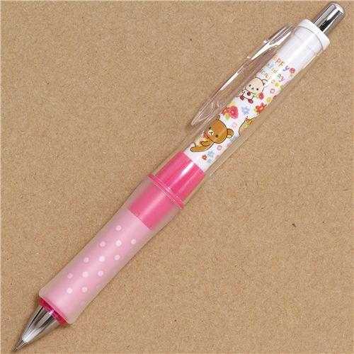 Rilakkuma picnic & flowers mechanical pencil rubber