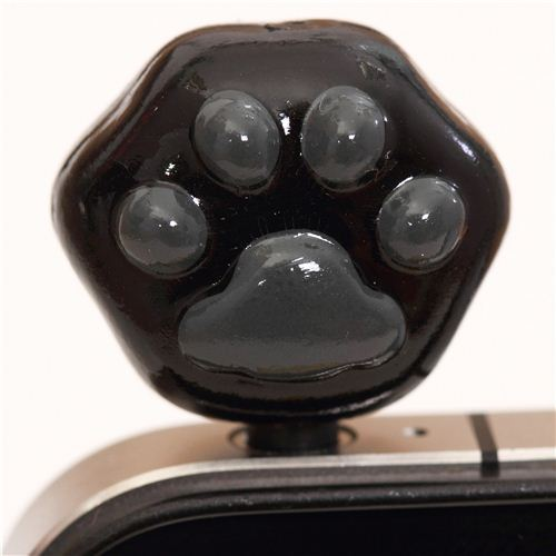 Kutusita Nyanko cat paw mobile phone plug earphone jack