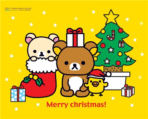 Cute free Christmas wallpapers 1