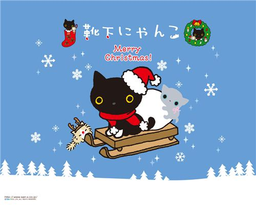 Cute free Christmas wallpapers 3