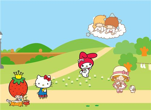 My Melody and Little Twin Stars were created in the 1970s - just like Hello Kitty