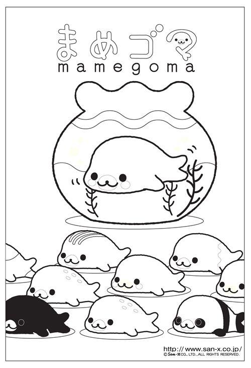 DIY idea: make your own San-X coloring book | modeS Blog