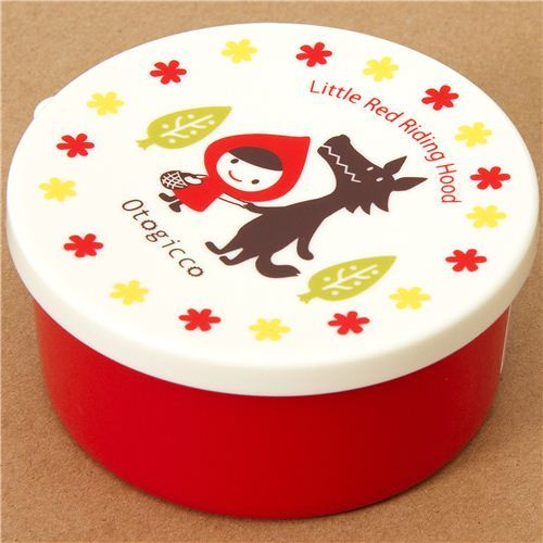 round red Little Red Riding Hood Bento Box Otogicco